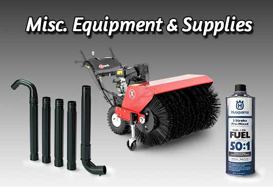 Miscellaneous Equipment and Supplies